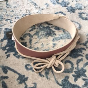 NWT White House Black Market reversible belt XS/S